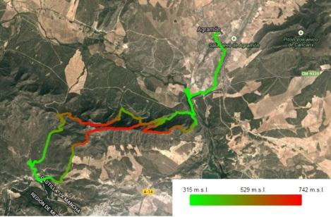 TRAIL LARGO CON ELEVACION